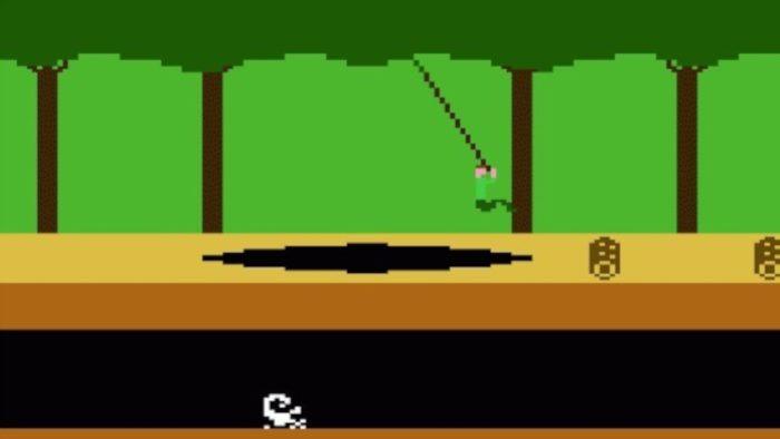 Activision / Pitfall! para Atari 2600 / como fazer pixel art