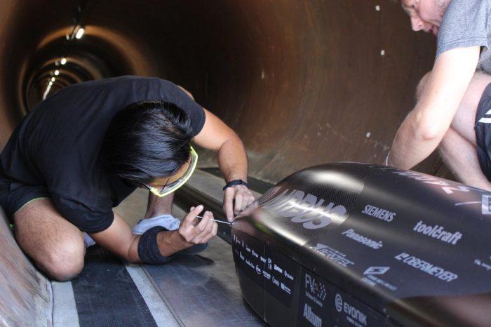 Pod da TUM Hyperloop (Foto: TUM Hyperloop Team)