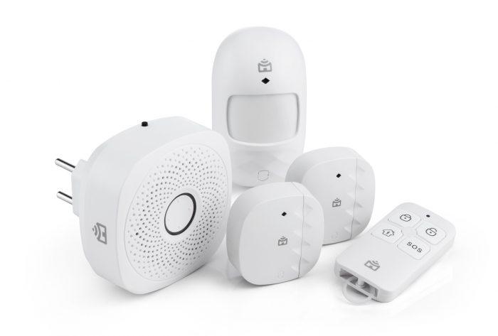 Positivo - Sensores e alarmes