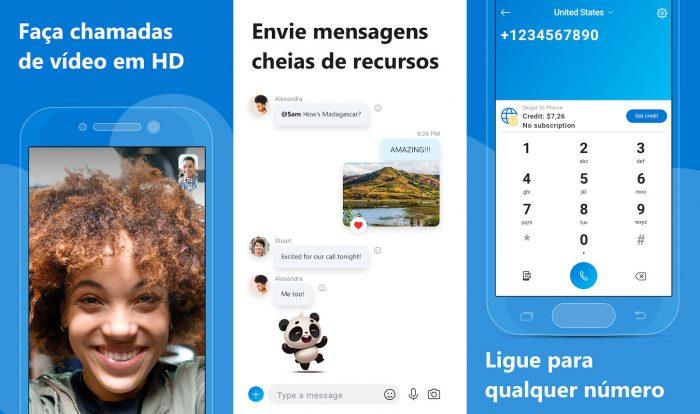 Android / Skype / como usar o skype