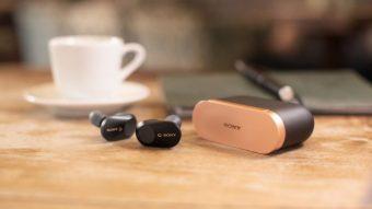 Fones sem fio Sony WF-1000XM3 trazem cancelamento de ruído melhorado