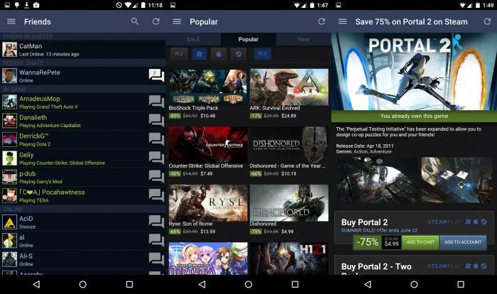 Android / Steam / como baixar steam
