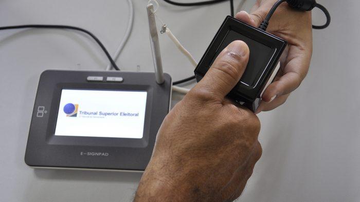 TSE / biometria / agendamento biometria