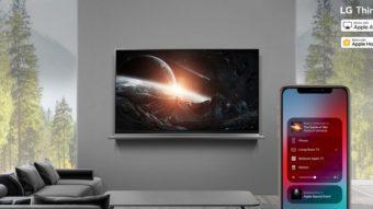 LG não vai mais atualizar TVs de 2018 com Apple AirPlay 2