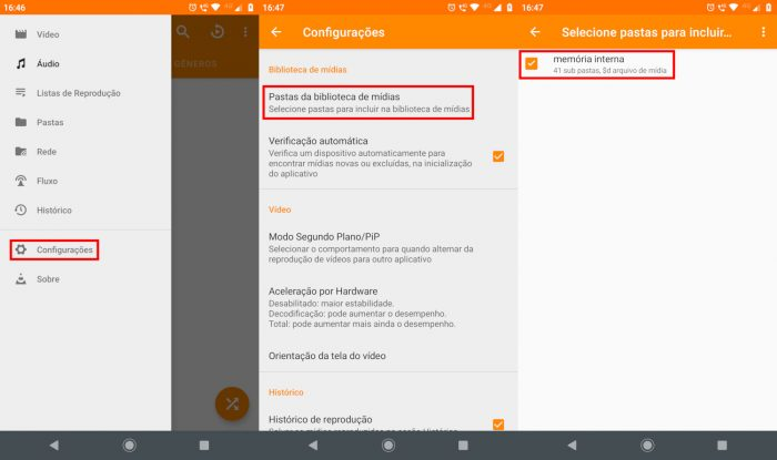 Android / VLC / Como colocar áudio de conversa no status do WhatsApp