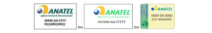 Selos da Anatel