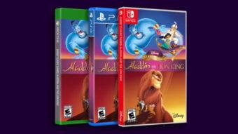 Aladdin do Mega Drive e Rei Leão do SNES são relançados para consoles e PC
