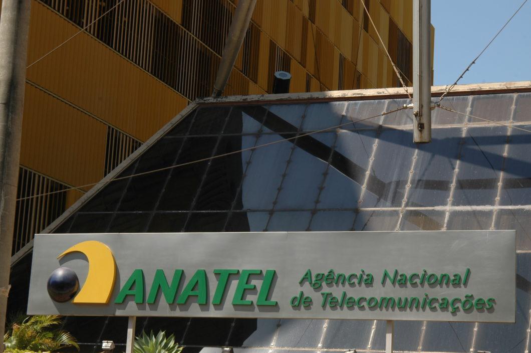 Fachada da sede da Anatel