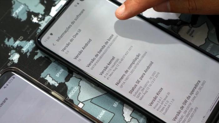 Android 10 com One UI 2.0