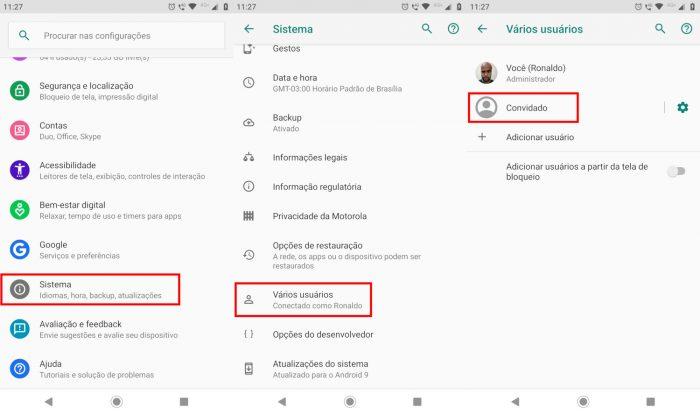 Android / como ocultar aplicativos