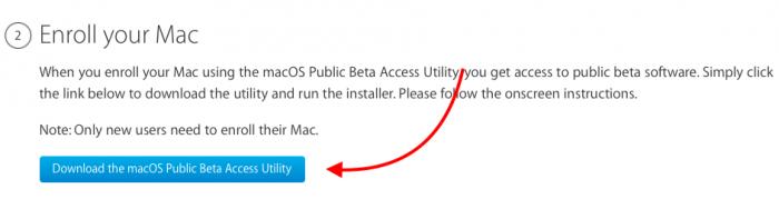 baixar utilitário do programa de beta da apple para mac