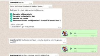 Banco do Brasil tem bot no WhatsApp que entende mensagens de voz