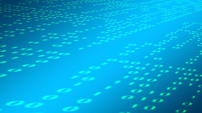 geralt / código binário (detalhe) / Pixabay / o que é bit