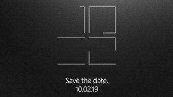 Microsoft pode anunciar Surface com duas telas em 2 de outubro