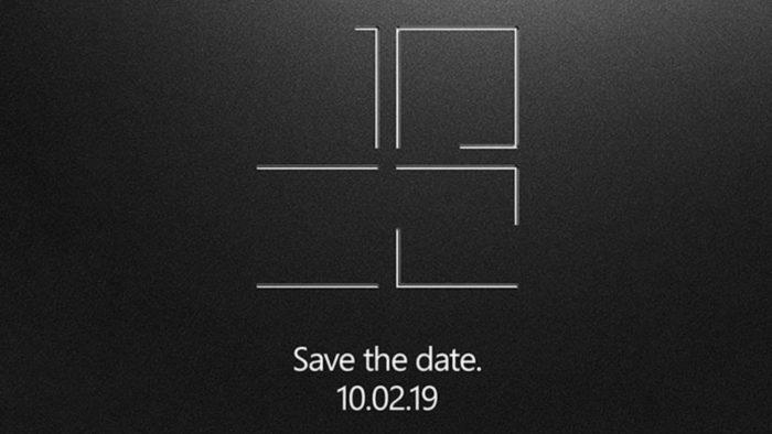 Convite da Microsoft