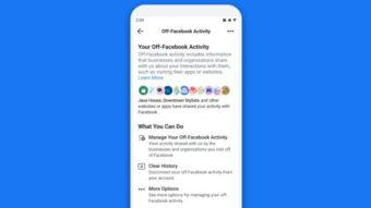 Facebook lança recurso de privacidade Clear History após um ano de atraso