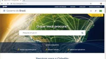 Gov.br: portal único do governo federal já está funcionando