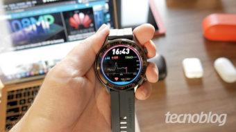 Huawei Watch GT: um relógio esportivo que quer ser smart