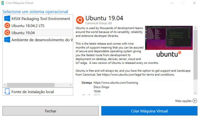 Windows 10 / Hyper-V / como criar uma máquina virtual