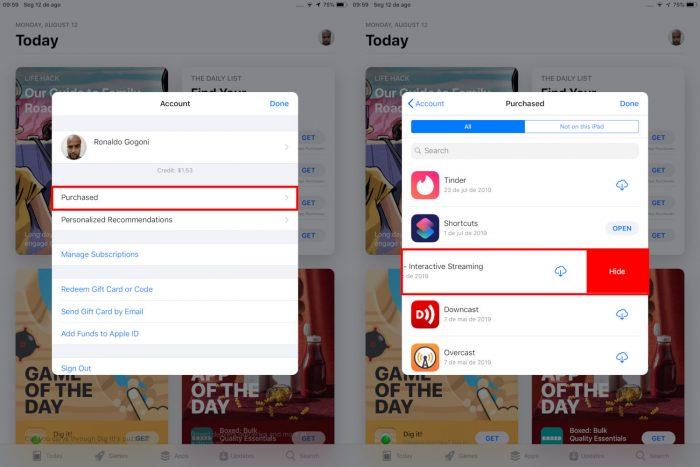 iPad / como ocultar aplicativos
