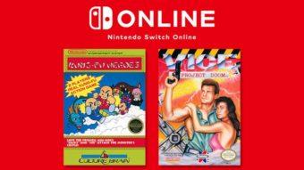 Jogos grátis que entram no Nintendo Switch Online em Agosto [NES Games]