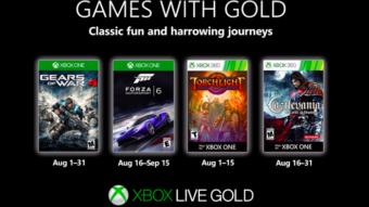 Xbox Live Gold: 4 jogos grátis para Xbox One e Xbox 360 em Agosto