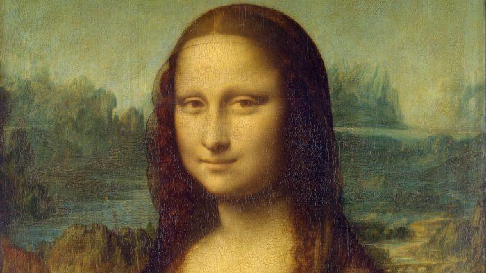 Leonardo da Vinci / Mona Lisa (detalhe) / Museu do Louvre / esteganografia