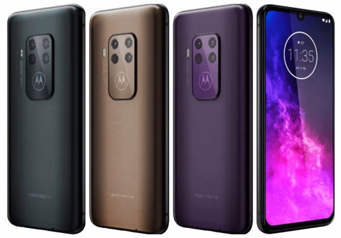 Motorola One Zoom - cores