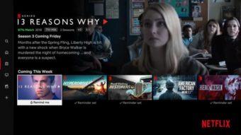 Netflix libera aba com lançamentos em aplicativo para TVs
