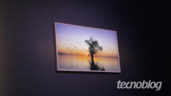 """Samsung lança nova The Frame que """"vira quadro"""" com painel QLED por R$ 6.999"""