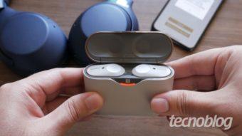 Sony WF-1000XM3: sem ruído e sem fios