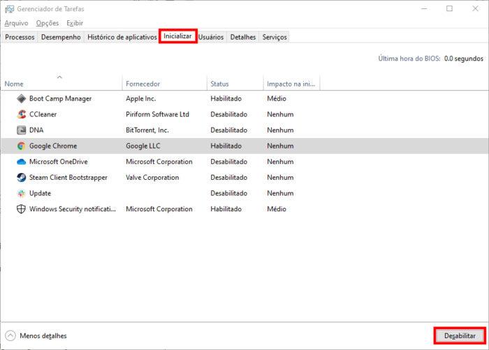 Windows 10 / Gerenciador de Tarefas / como diminuir o uso da cpu