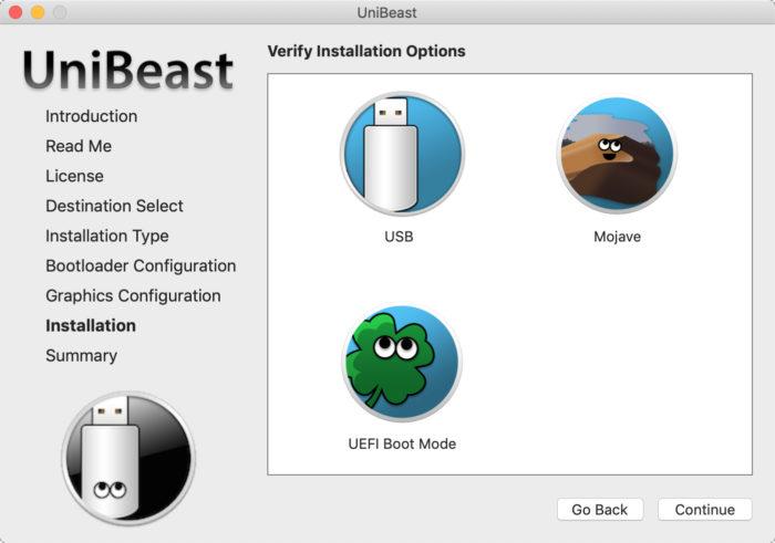 UniBeast / instalar macOS no PC