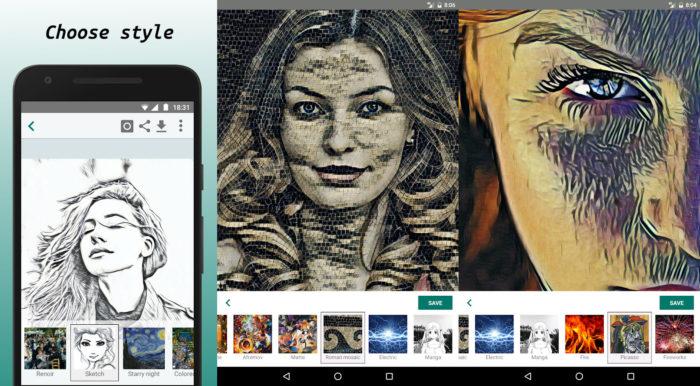 Android / Varnist / como transformar foto em desenho