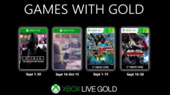 Xbox Live Gold: veja os jogos grátis para Xbox One e Xbox 360 em setembro