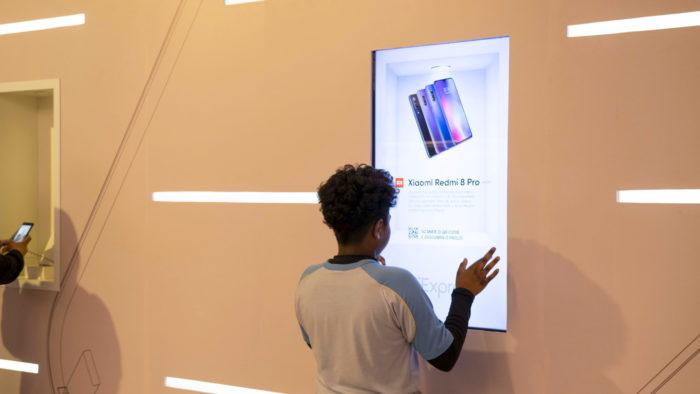AliExpress يعرض الهواتف المحمولة Xiaomi في متجر البدنية في البرازيل 2