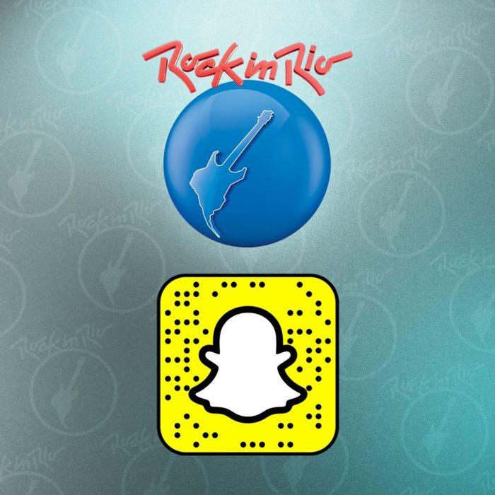 Este Snapcode destrava a lente do Rock in Rio com o Mapa 3D