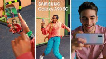Galaxy A90 5G pode ser o primeiro intermediário da Samsung com 5G
