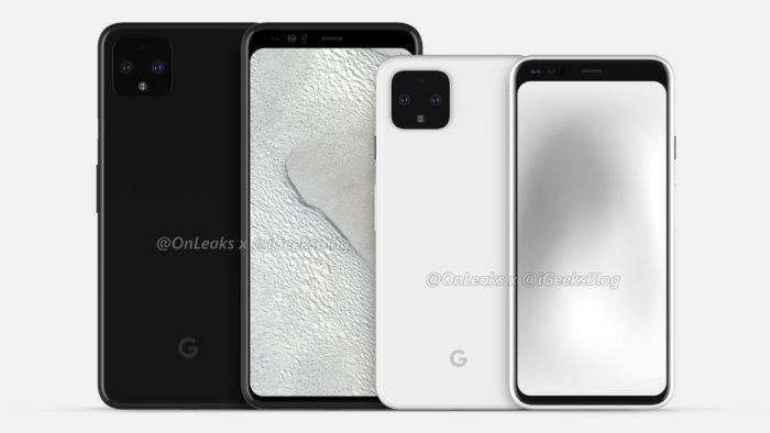 Google Pixel 4 e 4 XL