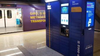 Metrô do Rio terá armários para receber suas compras online