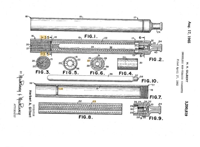 Patente 1963, por Herbert Gilbert