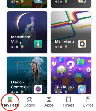 Play Pass - Google Play Store