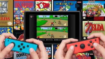 Como baixar jogos do NES e SNES no Nintendo Switch