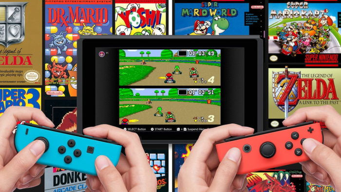jogos grátis do SNES no Nintendo Switch Online