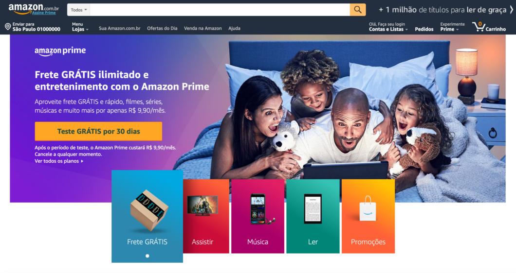 Amazon Prime Brasil