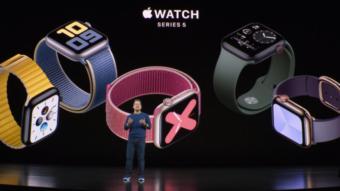 Qual a diferença do Apple Watch Series 4 e Series 5?