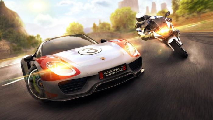 Gameloft / Asphalt 8: Airborne / jogos de carro offline