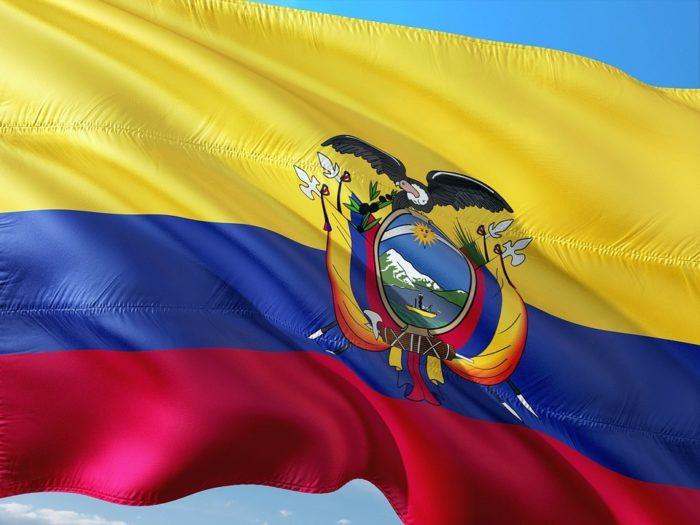 Bandeira do Equador - imagem por Max Pixel