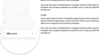 Google Docs ganha contador sempre visível de palavras