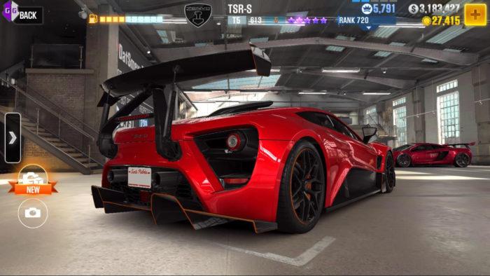 CSR Racing 2 / jogos de carro offline